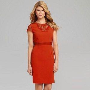 ANTONIO MELANI Red Berlin Dress. NWT